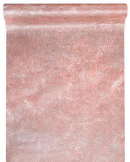 Deko Vlies-Tischläufer Sizo, rosé-gold, 30 cm breit, 5 m Rolle - tischlaeufer, dekovlies, basis