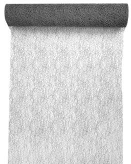 Tischläufer Grace, grau, 30 cm breit, 5 m Rolle - tischlaeufer, grace