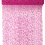 Tischläufer Grace, pink, 30 cm breit, 5 m Rolle