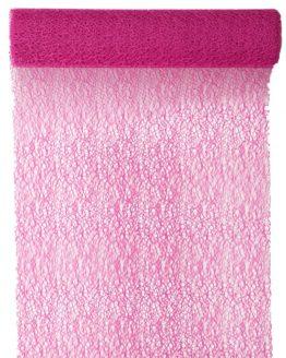 Tischläufer Grace, pink, 30 cm breit, 5 m Rolle - tischlaeufer, grace