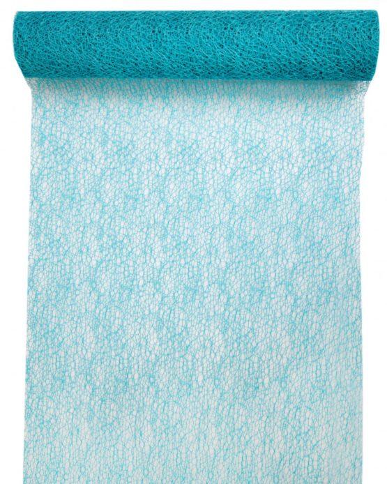 Tischläufer Grace, hellblau, 30 cm breit, 5 m Rolle - tischlaeufer, grace