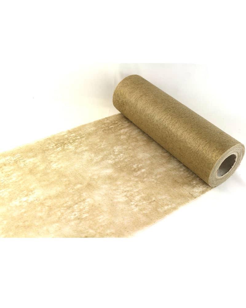 Dekovlies basis gold 230 mm breit 20 m rolle dekovlies for Ecksofa 230 cm breit