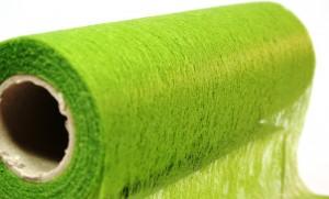 Deko Vlies Tischband 70 cm  grün_1