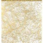 Deko Vlies-Tischläufer Sizo, gold, 30 cm breit, 5 m Rolle