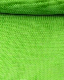 Jute-Tischläufer apfelgrün, 30 cm breit, 10 m Rolle - tischlaeufer, jute