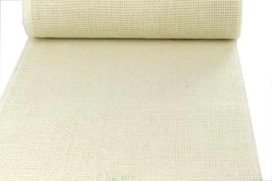 Jute-Tischläufer gebleicht, 30 cm breit, 10 m Rolle - tischlaeufer, jute