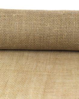 Jute-Tischläufer natur, 30 cm breit, 10 m Rolle - tischlaeufer, jute