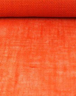 Jute-Tischläufer orange, 30 cm breit, 10 m Rolle - tischlaeufer, jute