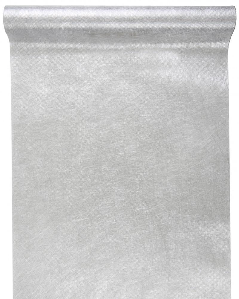 Metallisiertes Dekovlies silber 4572_4
