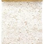 Organza-Tischläufer Crystals, gold, 28 cm breit, 5 m Rolle