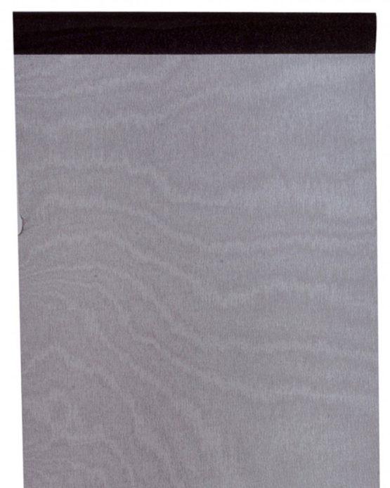 Organza-Tischläufer schwarz, 28 cm breit, 5 m Rolle - tischlaeufer, organza-tischlaeufer