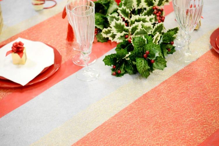 Tischläufer aus Deko Vlies - dekovlies-deko