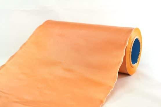 Tischband Changé, apricot, 20 cm breit, 20 m Rolle - tischband