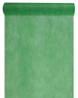 Vlies-Tischläufer BUDGET 30 cm breit, dunkelgrün, 10 m Rolle - tischlaeufer, dekovlies, budget