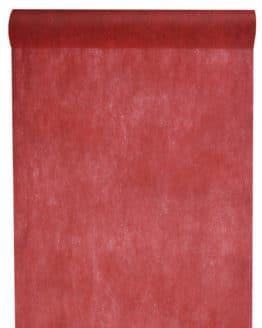 Vlies-Tischläufer BUDGET 30 cm breit, bordeaux, 10 m Rolle - tischlaeufer, dekovlies, budget