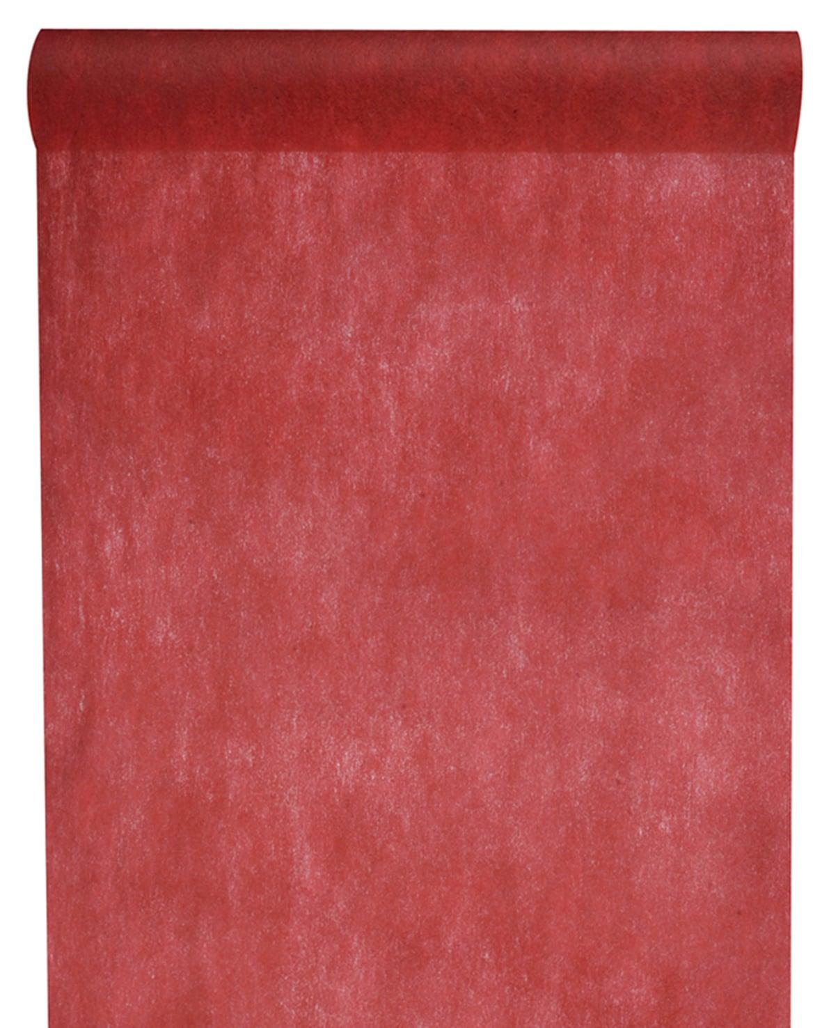 Vlies Tischlaeufer 30cm bordeaux (2810_21)