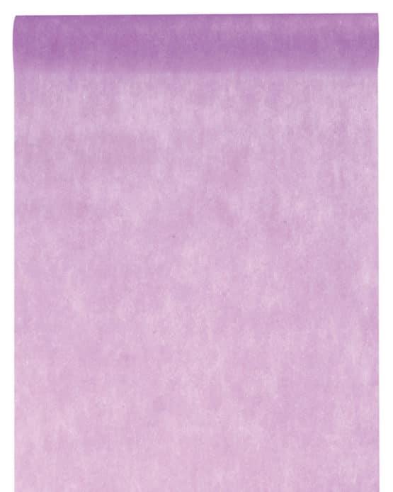 Vlies-Tischläufer BUDGET 30 cm breit, flieder, 10 m Rolle - tischlaeufer, dekovlies, budget