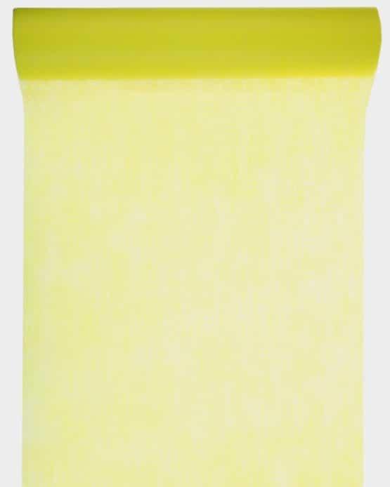 Vlies-Tischläufer BUDGET 30 cm breit, gelb, 10 m Rolle - tischlaeufer, dekovlies, budget