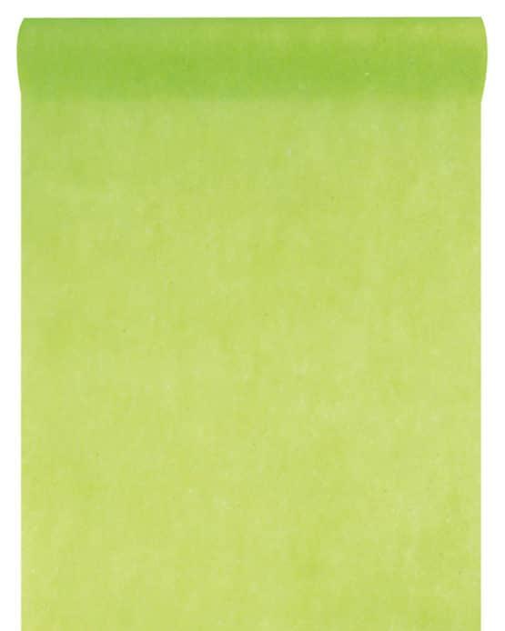 Vlies-Tischläufer BUDGET 30 cm breit, hellgrün, 10 m Rolle - tischlaeufer, dekovlies, budget