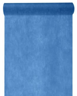 Vlies-Tischläufer BUDGET 30 cm breit, marineblau, 10 m Rolle - tischlaeufer, dekovlies, budget