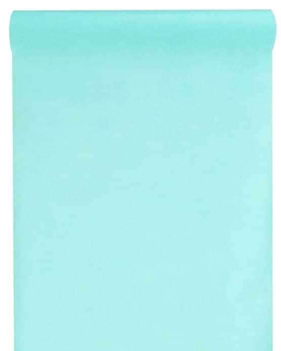 Vlies-Tischläufer BUDGET 30 cm breit, mint, 10 m Rolle - tischlaeufer, dekovlies, budget