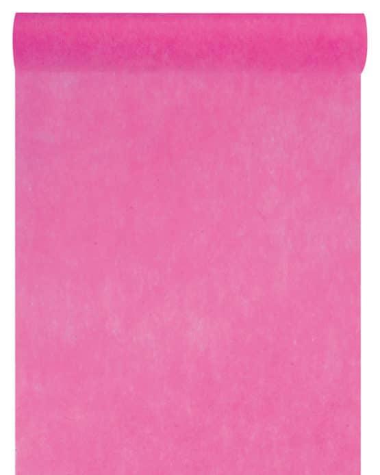 Vlies-Tischläufer BUDGET 30 cm breit, pink, 10 m Rolle - tischlaeufer, dekovlies, budget