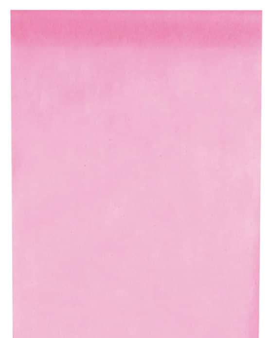Vlies-Tischläufer BUDGET 30 cm breit, rosa, 10 m Rolle - tischlaeufer, dekovlies, budget