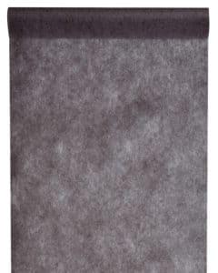 Vlies Tischlaeufer 30cm schwarz (2810_11) -