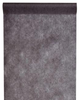 Vlies-Tischläufer BUDGET 30 cm breit, schwarz, 10 m Rolle - tischlaeufer, dekovlies, budget