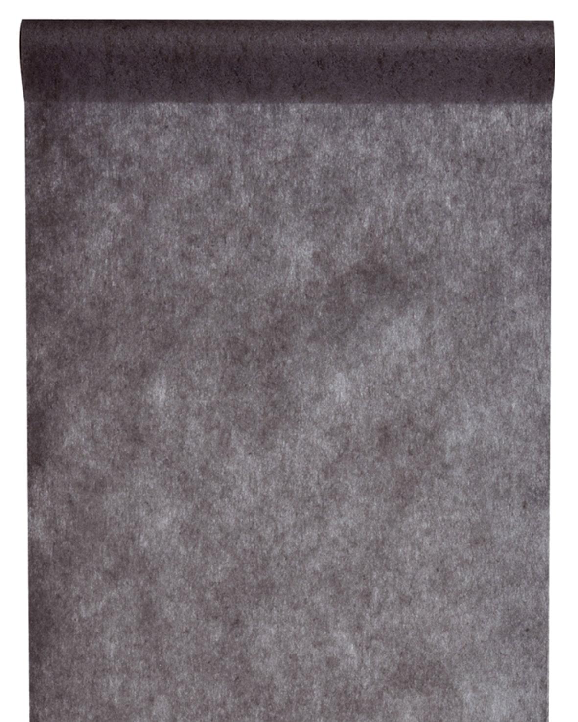 Vlies Tischlaeufer 30cm schwarz (2810_11)