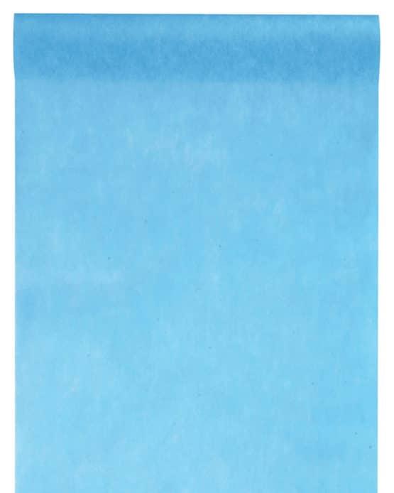 Vlies-Tischläufer BUDGET 30 cm breit, türkis, 10 m Rolle - tischlaeufer, dekovlies, budget
