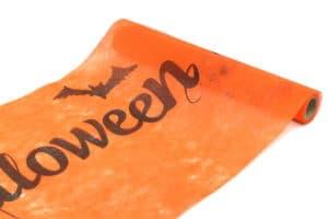 Vlies-Tischlaeufer_Halloween_orange_30cm_4693-12_1200x800 -