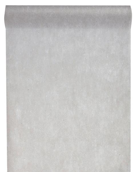 Vlies-Tischläufer BUDGET 30 cm breit, grau, 10 m Rolle - tischlaeufer, dekovlies, budget